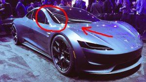 Roadster i Cybertruck będą wyposażone w laserowy system czyszczenia szyb