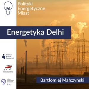 Energetyka Delhi – Komentarz IPP | Polityki energetyczne miast