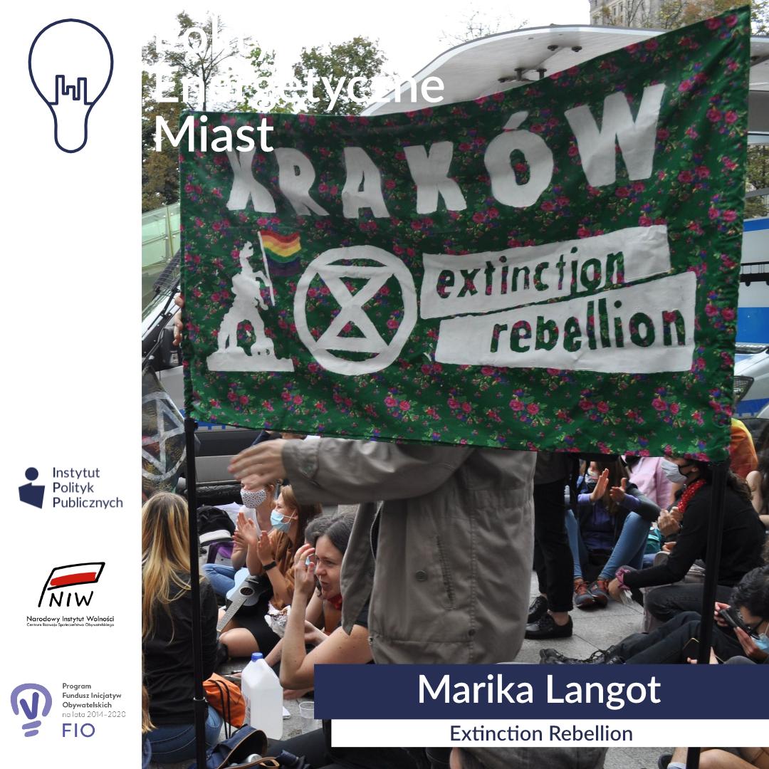 Wywiad zMariką Langot, aktywistką Extinction Rebellion | Polityki energetyczne miast