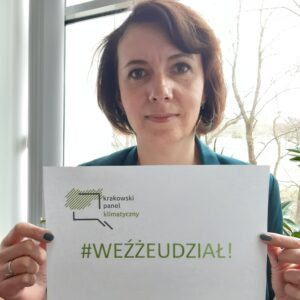 Katarzyna Przyjemska-Grzesik, Kierownik Zespołu Kraków wZieleni